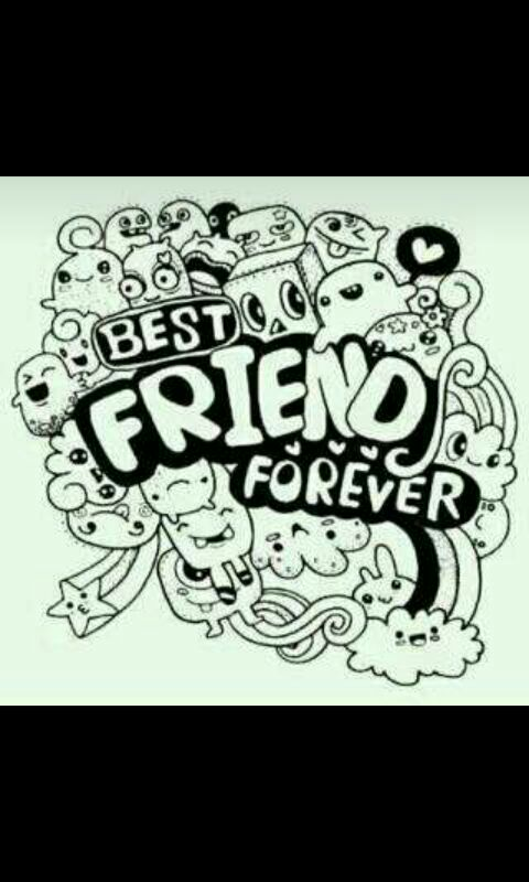52 Gambar Doodle Keren Mengenai Persahabatan Gratis Terbaik