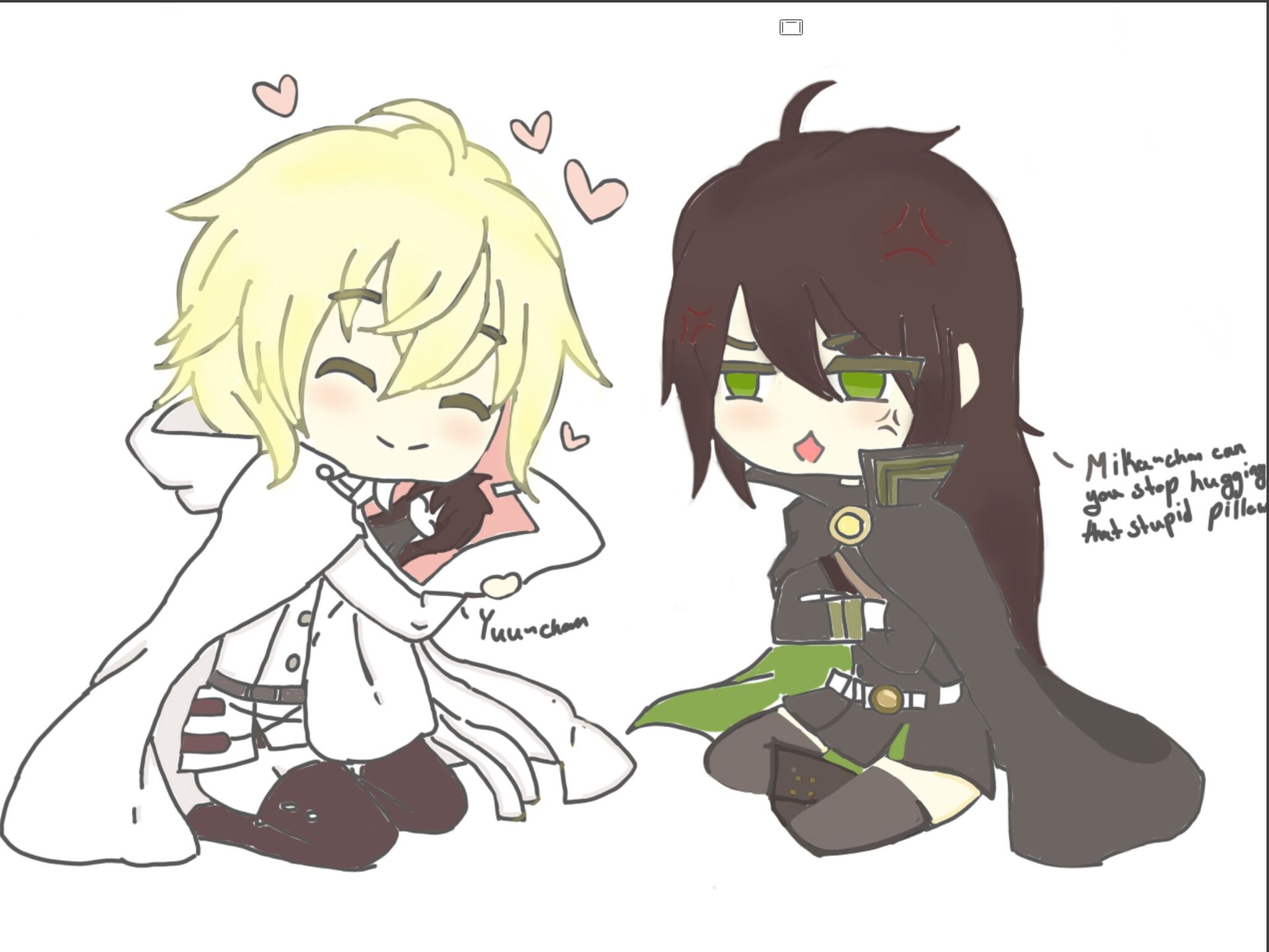 mika and yuu meet