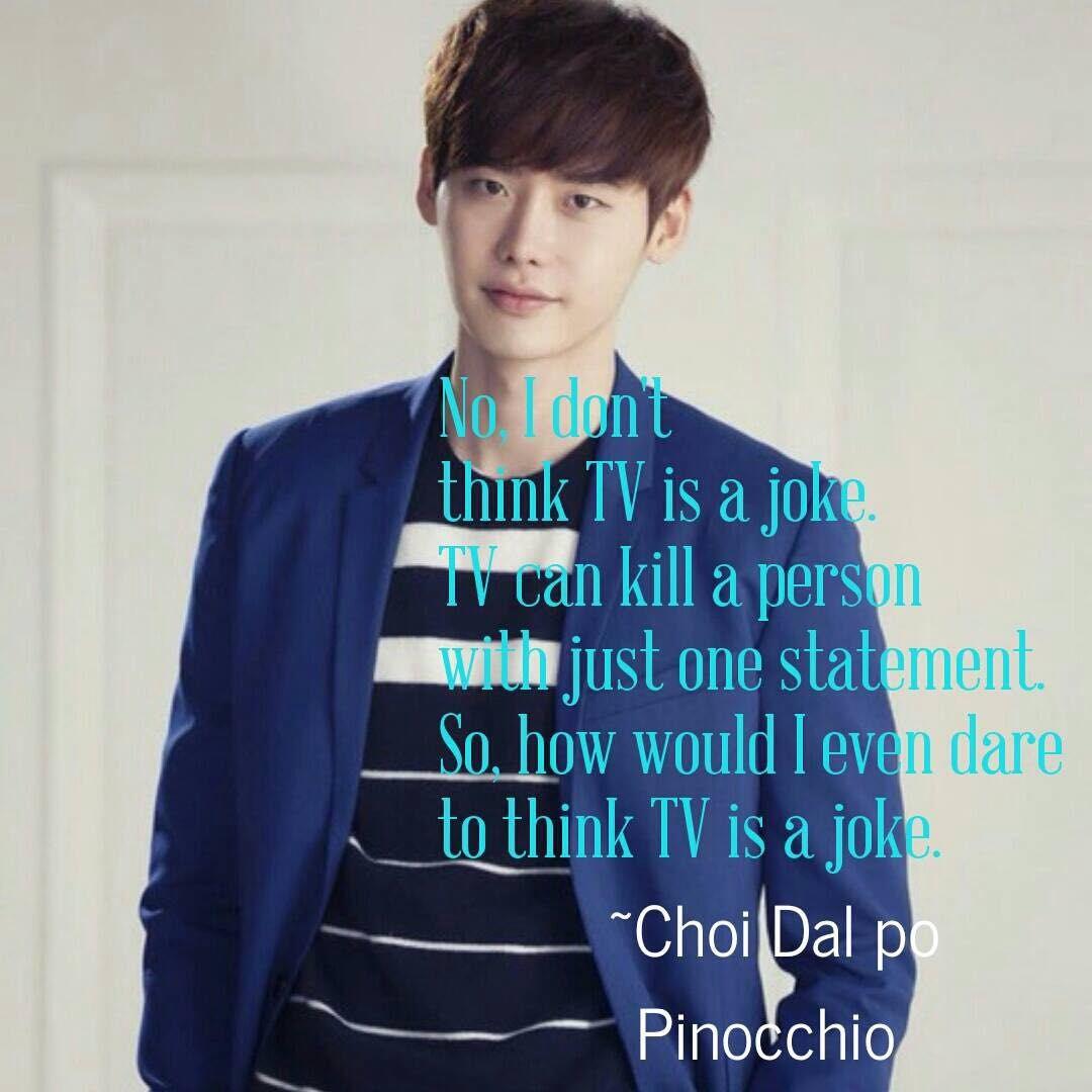Best Korean Drama Quotes Pinocchio Wattpad