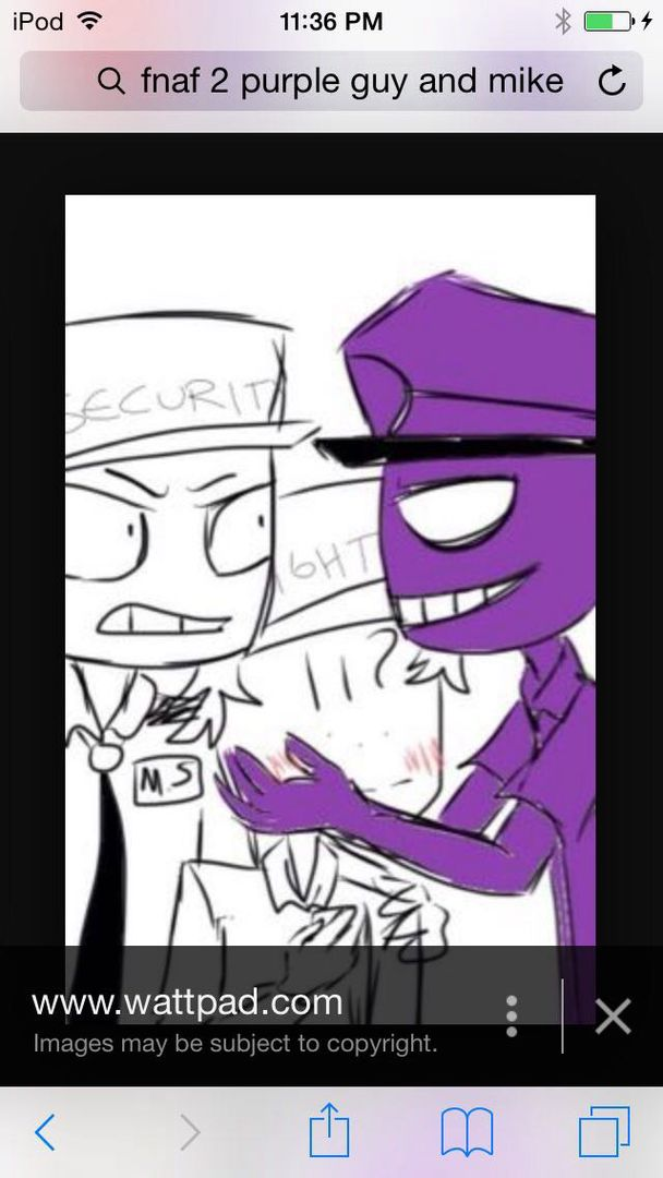 Vincent x reader fnaf almost like an anime mike is mad at vincent