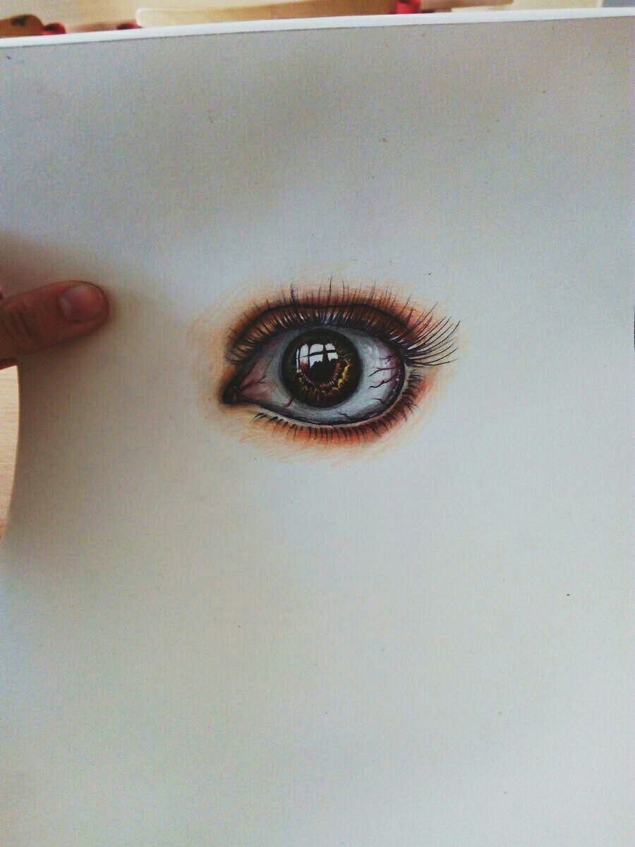 Kresleni Moje Vykresy Oko Pastelkami 2 Wattpad