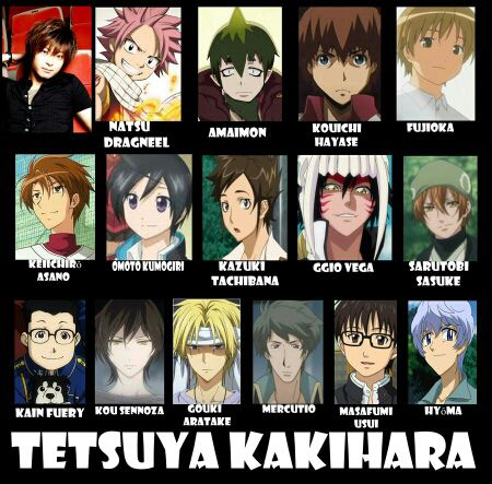 Seiyuu - Tetsuya Kakihara - Wattpad
