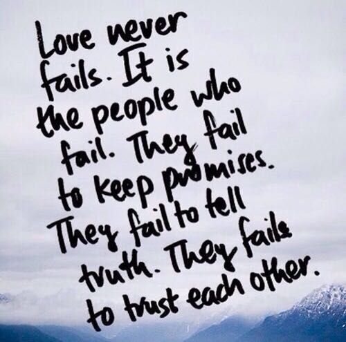 I Love You Quotes: Poem #7~ Love Never Fails
