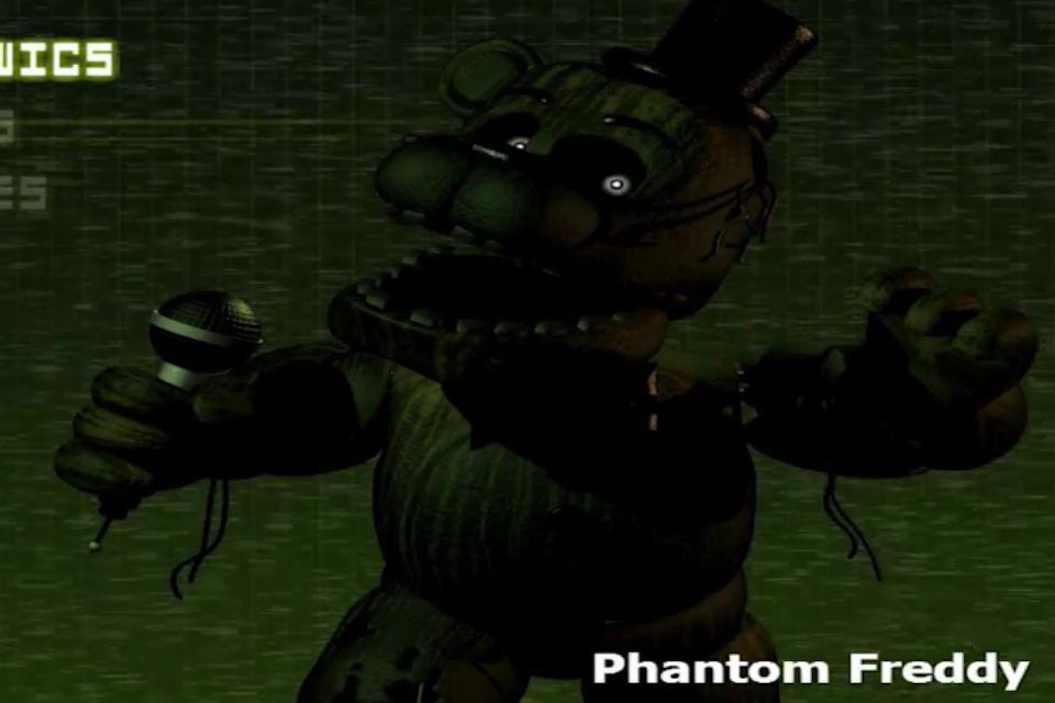 Character files on five nights at freddy s phantom freddy wattpad