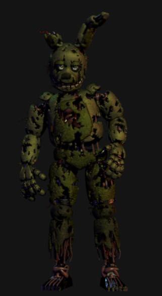 Five Nights at Freddy's 3 Animatronics - Spring Trap - Wattpad