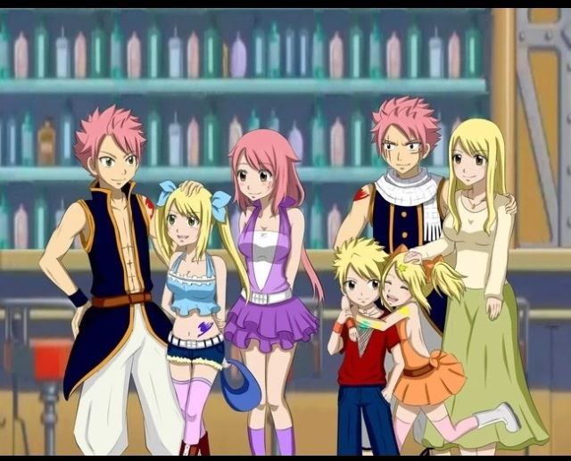 The gallery for lucy and natsu family - Fairy tail natsu x lucy ...