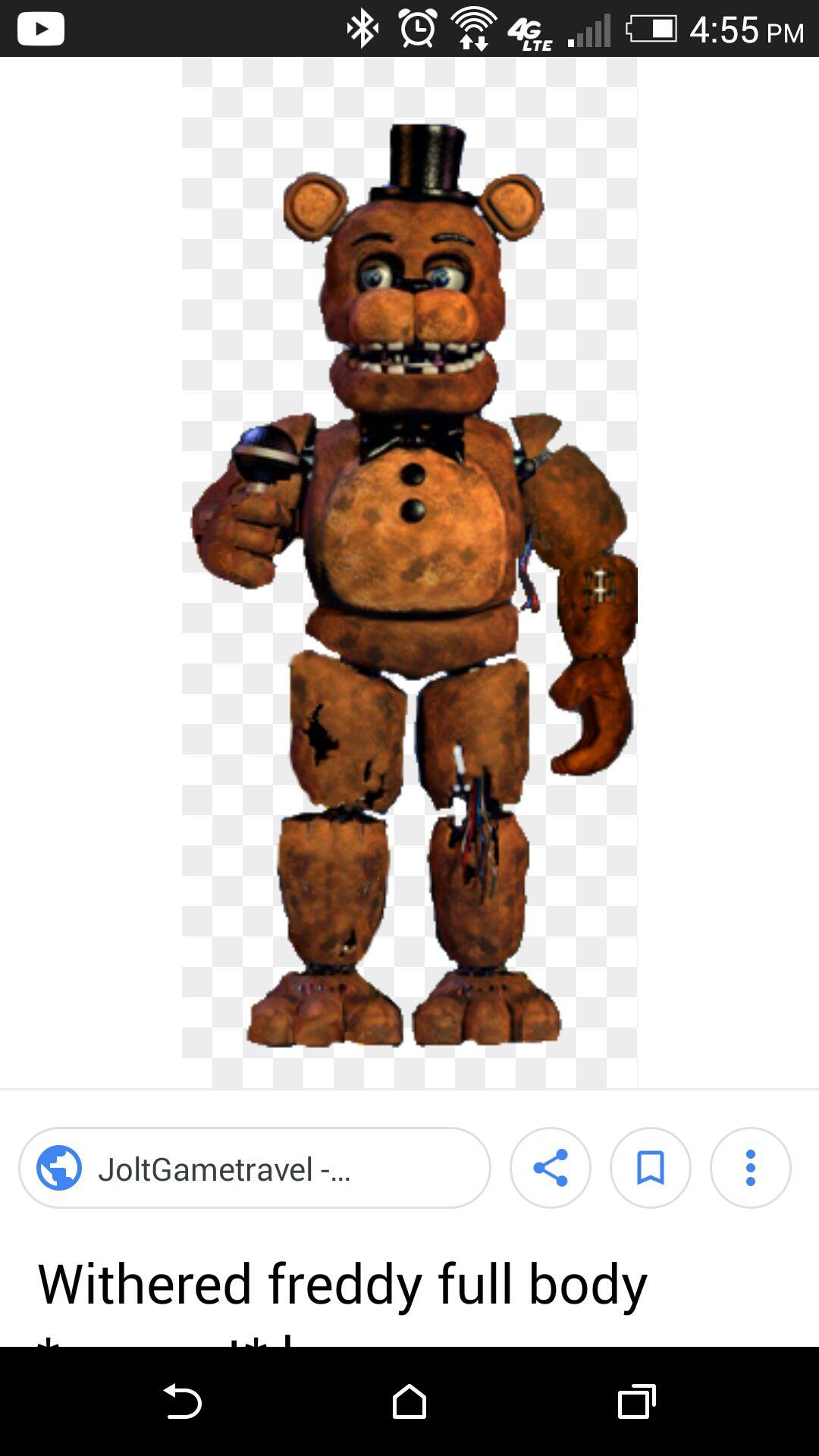 fnaf 2 - withered Freddy ch 5 - Wattpad