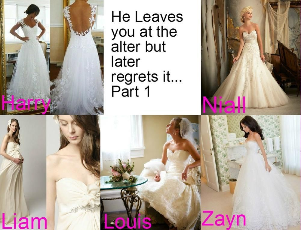 One Direction Preferences - He Leaves you at the alter but