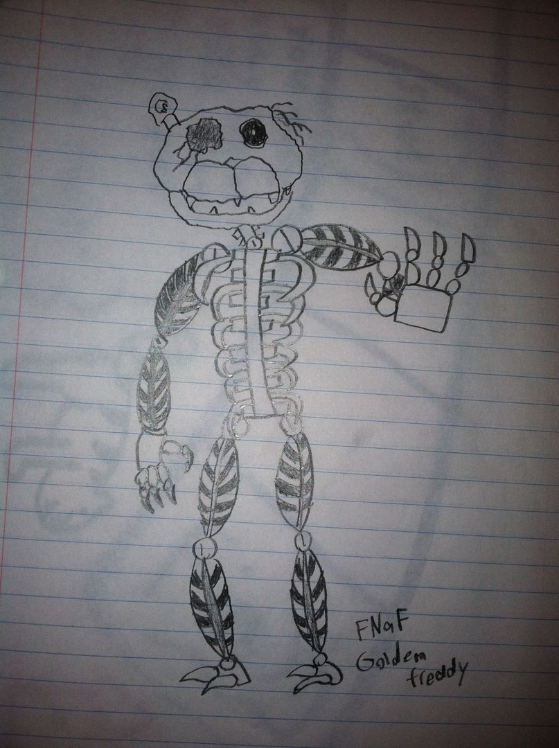 Five nights at freddy s facts and top 10 20s 5 golden freddy page
