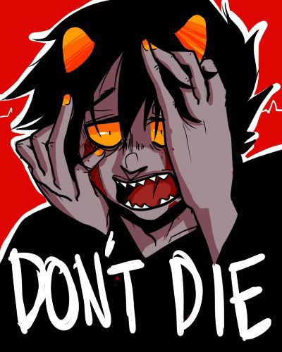 homestuck x reader karkat x reader sadstuck request