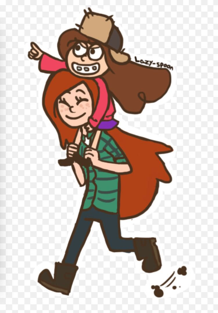 Gravity Falls Wendy And Mabel Hot
