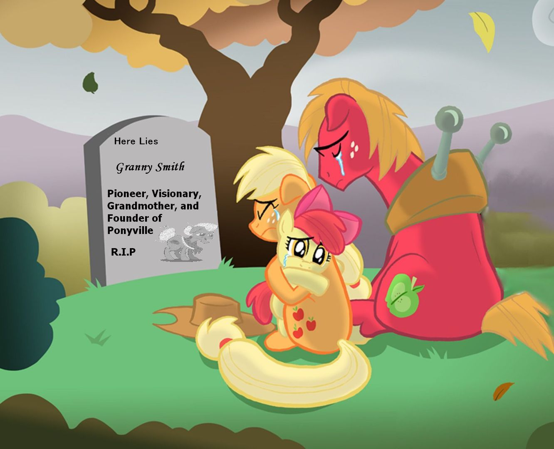 My Little Pony Friendship Is Tragic Deaths Granny Smith Wattpad