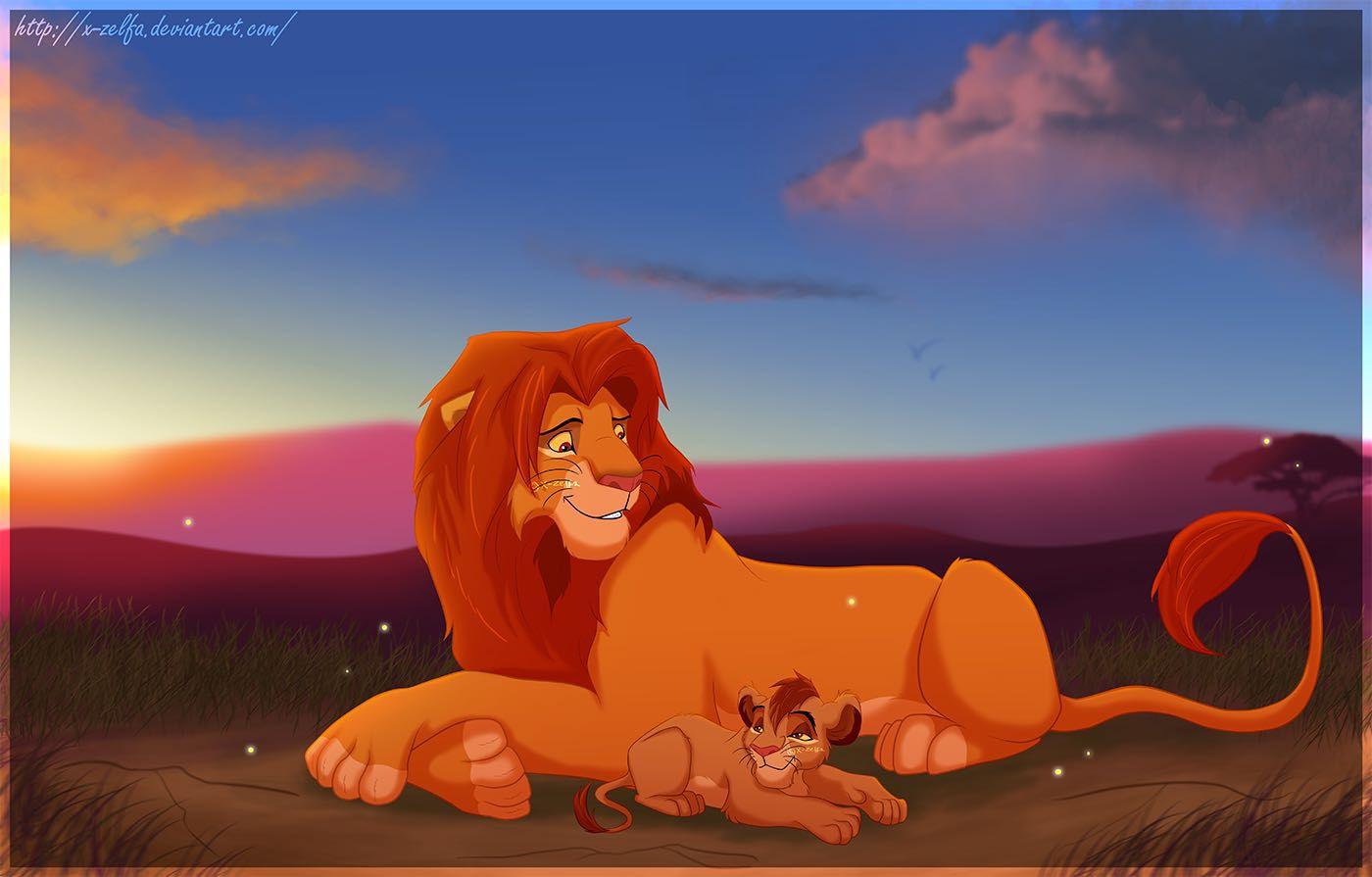 The Lion King Simba And Kopa