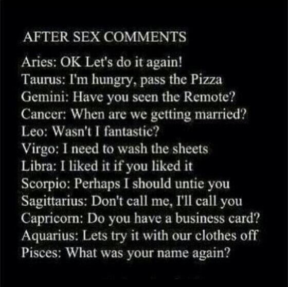 Astrological Signs Sex - Wild Anal-9852