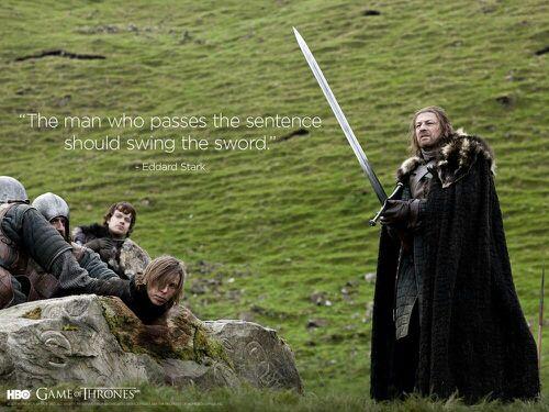 Game Of Thrones Zitate 3 Eddard Stark Wattpad
