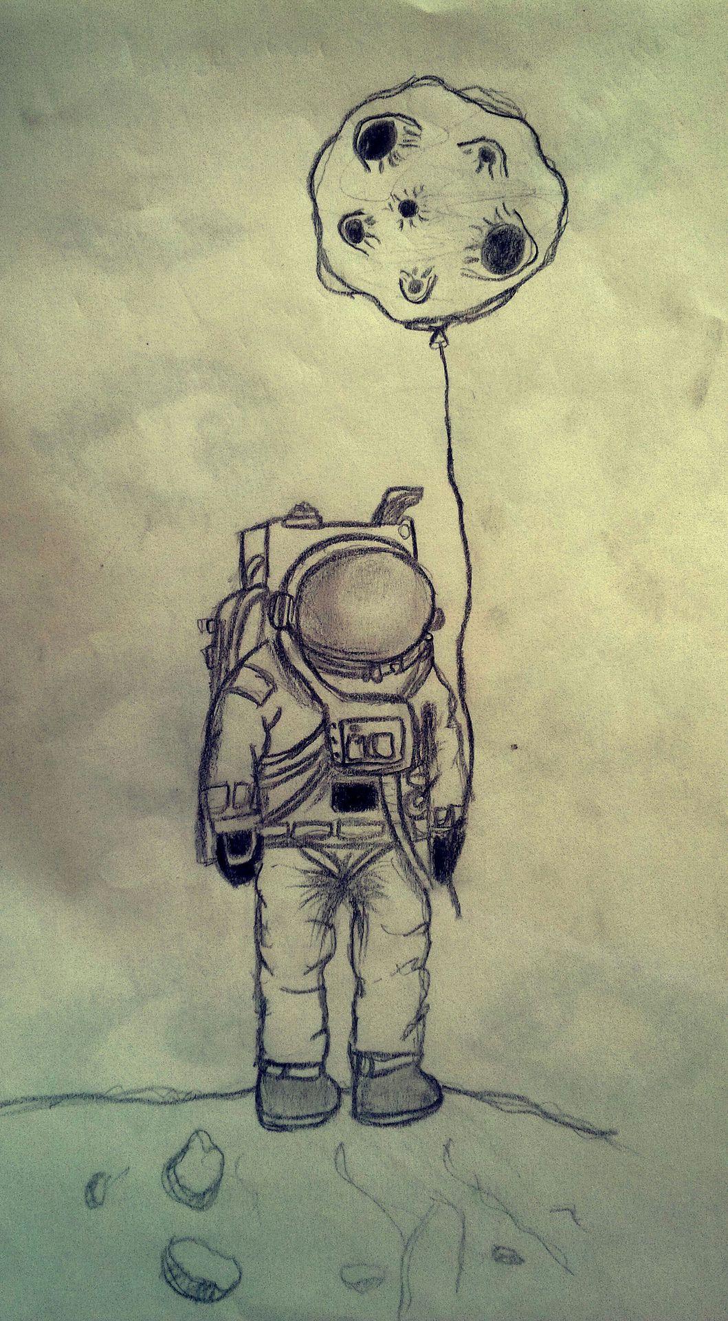 dibujos de la luna