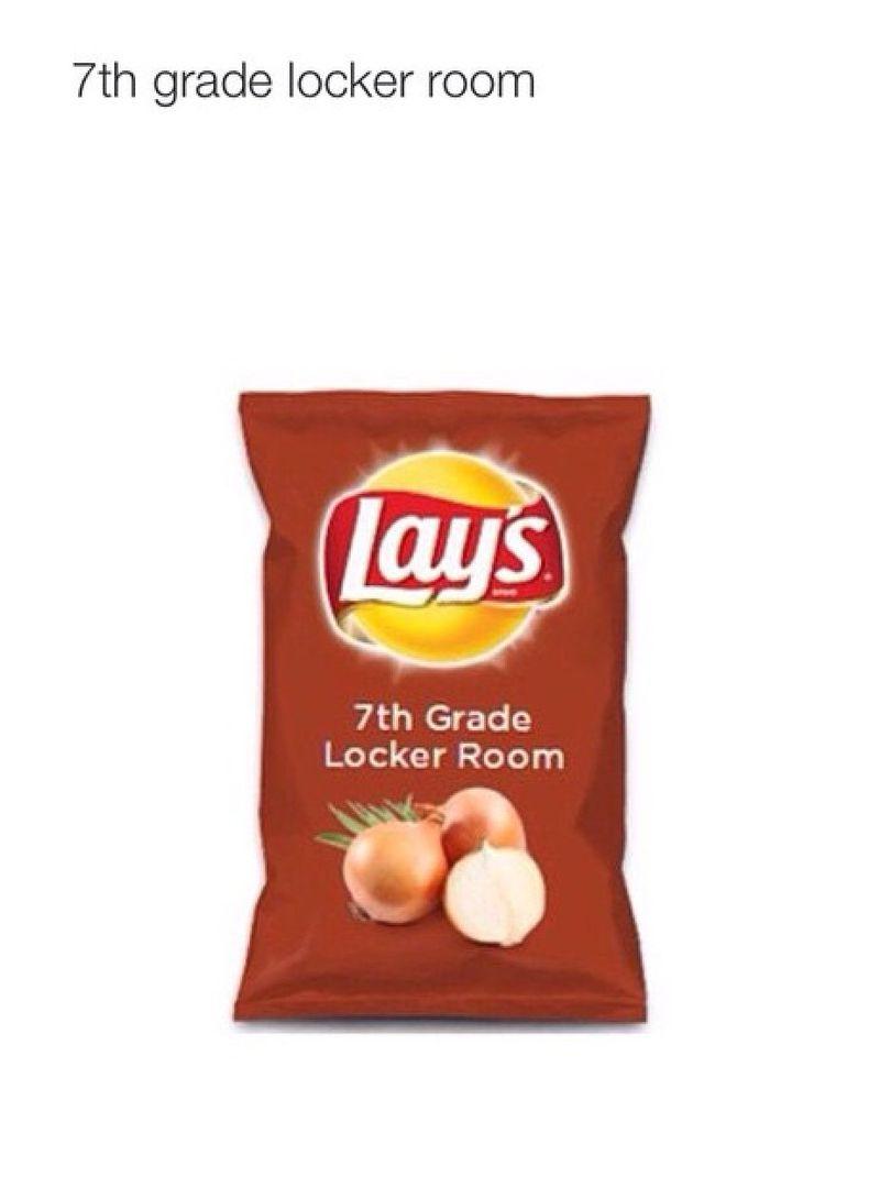 Lays Chip Flavors 7th Grade Locker Room Wattpad