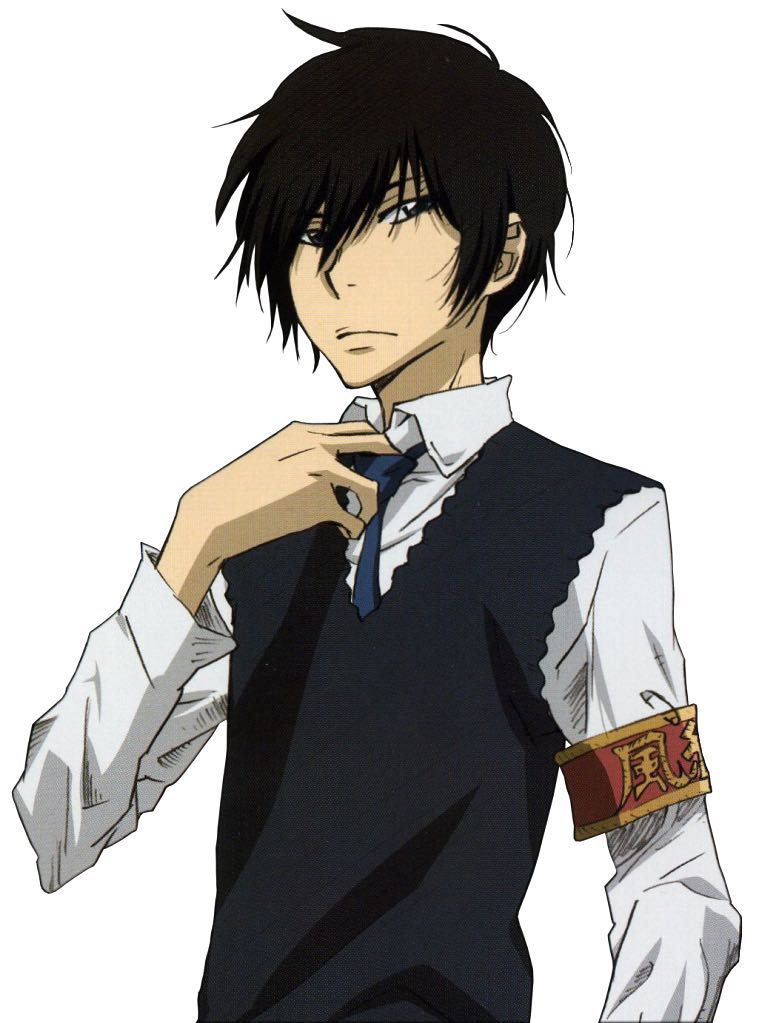 Anime Characters Reader : Character reader anime hibari kyoya katekyo