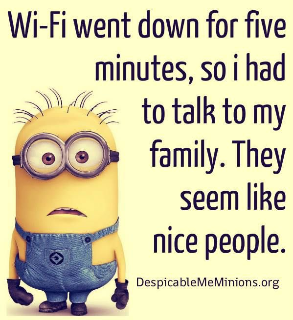 Funny Quotes About Family: Minion Memes And Quotes