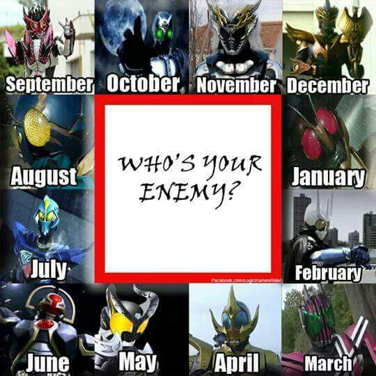 Funny Kamen Rider And Super Sentai Meme Who Your Enemy Wattpad