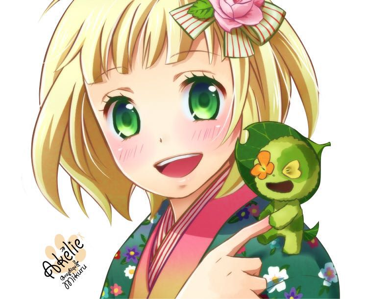 Reader Anime Characters : Fem anime characters reader shiemi the