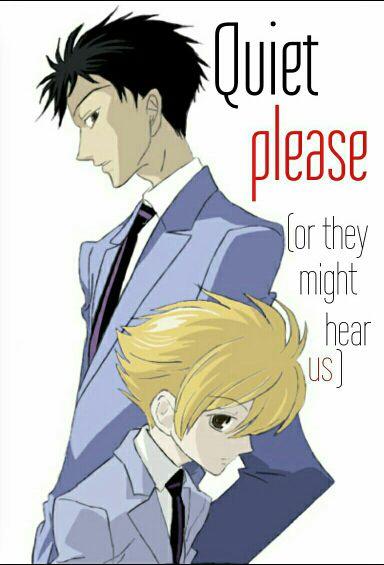 Mark My Words - Quiet Please: [Mori-senpai x Reader