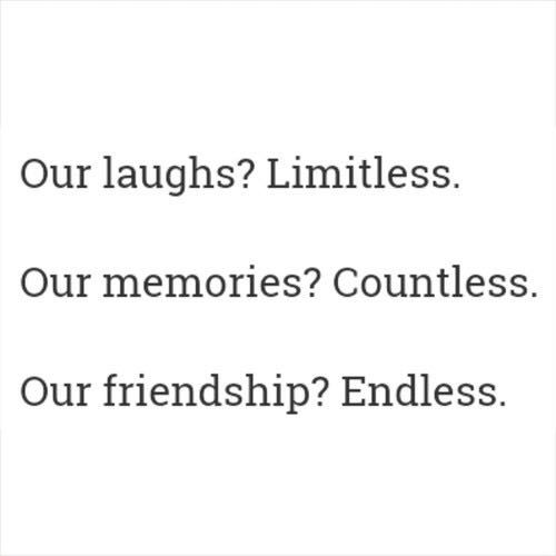 Quotes About Friendship Memories Amazing Best Friends Quotes  Laughs Memories Friendship  Wattpad