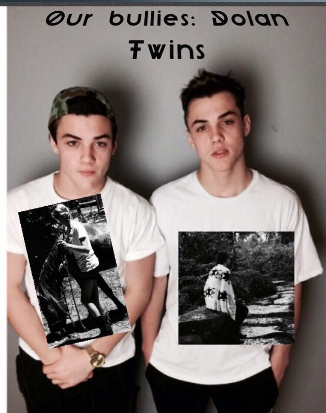 As they look outside of school dolan dolantwins ethan fanfic grayson