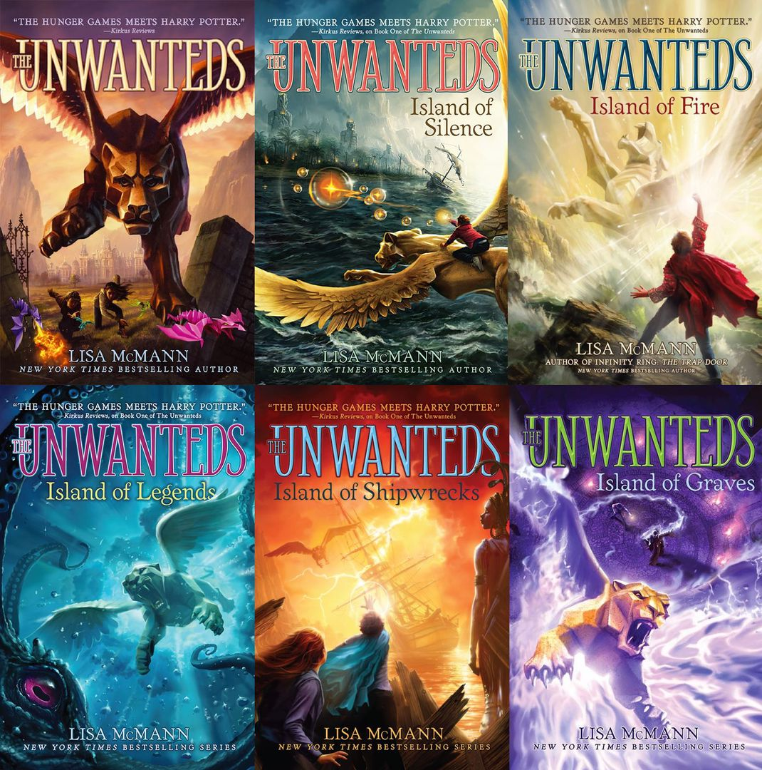 The unwanteds series (complete) - Lisa McMann