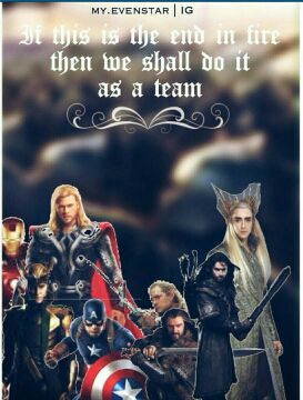 One Last Mission (Avengers X Reader X The hobbit) - Chapter