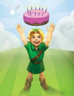 Resultado de imagen para feliz cumpleaños de Zelda