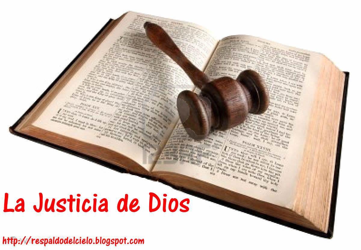 Justicia (La Justicia De Dios Es