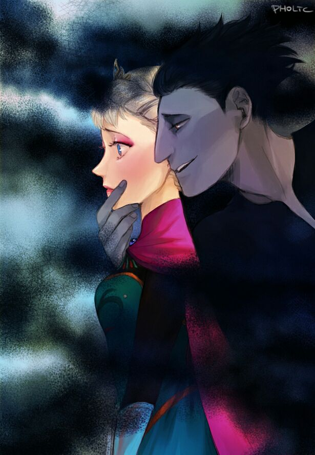 jack frost and pitch black kiss - photo #31