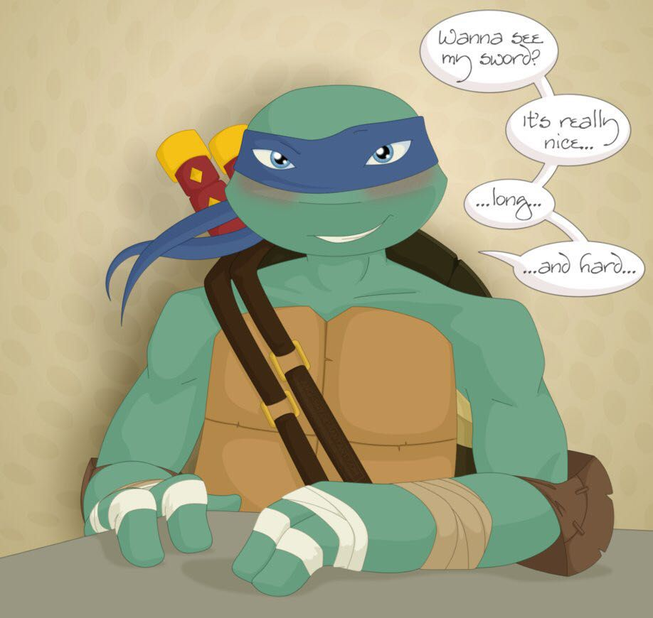 Let Me Love You~ TMNT Leo x reader - When he plays with you