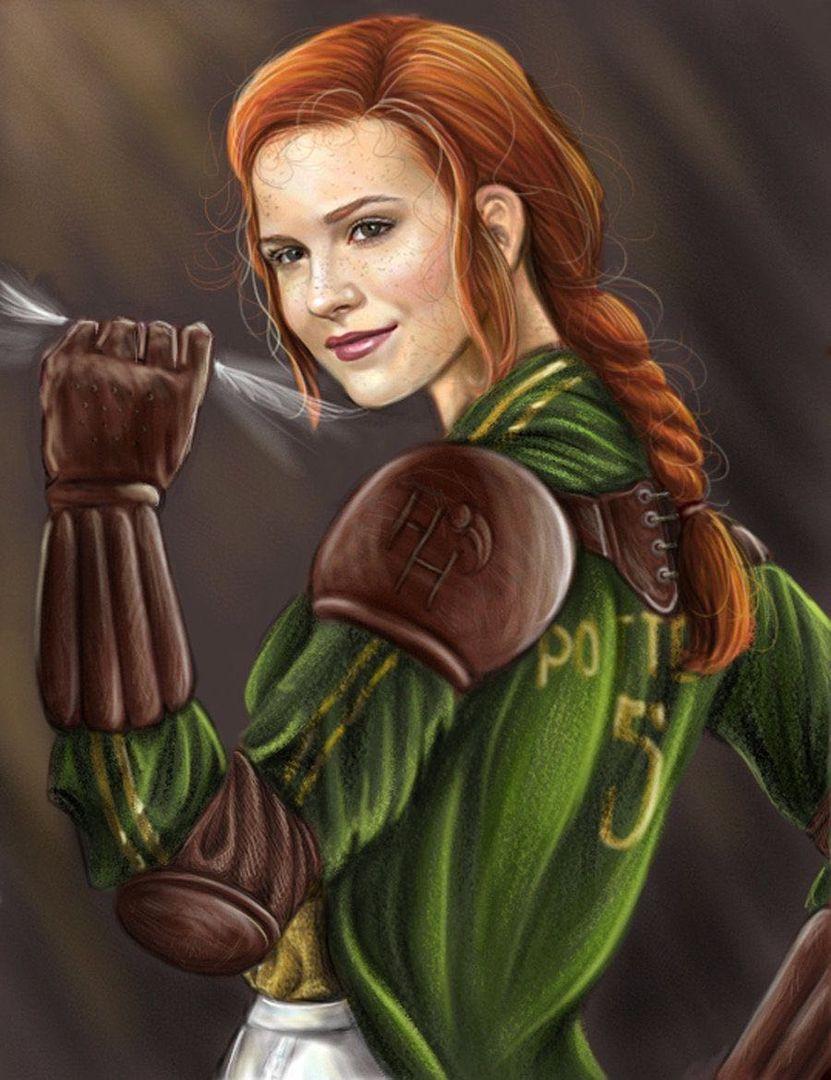 Resultado de imagen de ginny quidditch