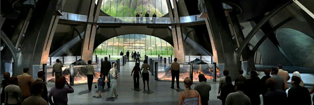 Jurassic world el centro de visitantes wattpad for Puerta jurassic world