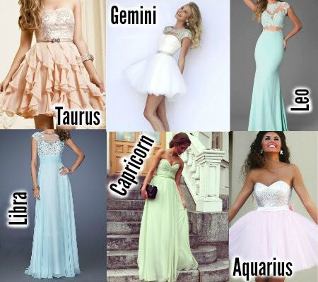 Prom dress zodiac sign leo