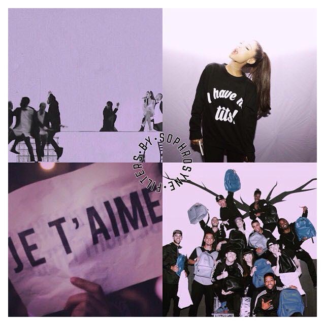 Vscocam Filters Ariana Grande S Purple Background Wattpad
