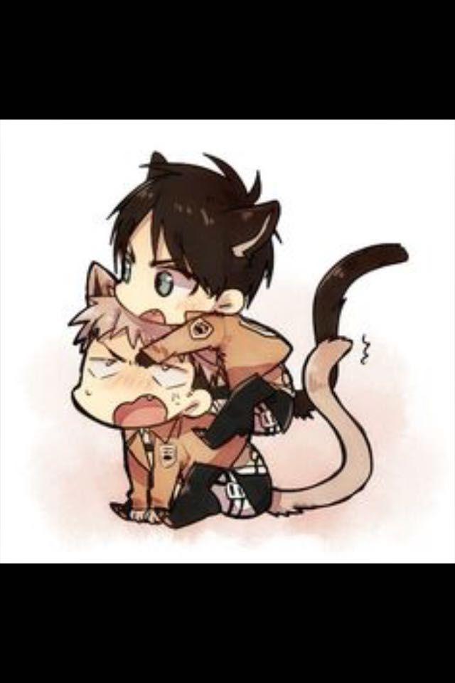 Attack on Titan one-shots - My kitten~ Neko!Jean x Reader x
