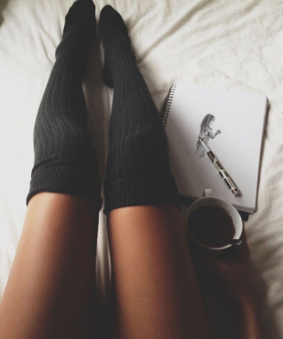 Фото ног в носочках 5 фотография
