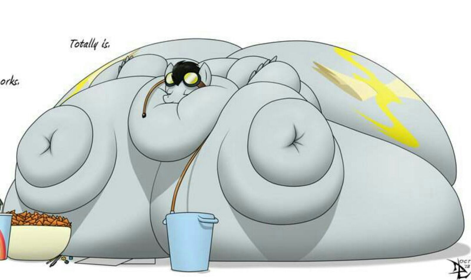 Fat Fur Weight: Fat/Inflation/Weight Gain/Normal Roleplay Book.