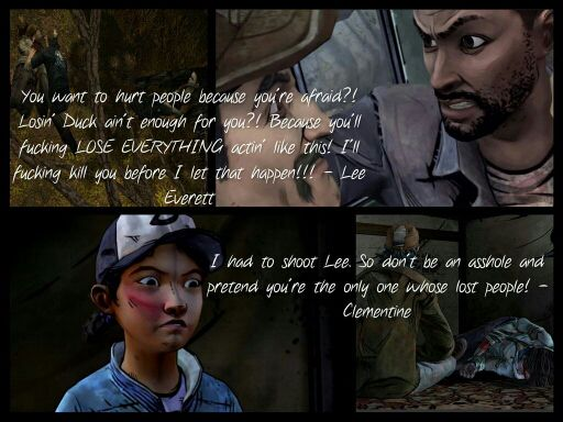 lee and clementine ending relationship