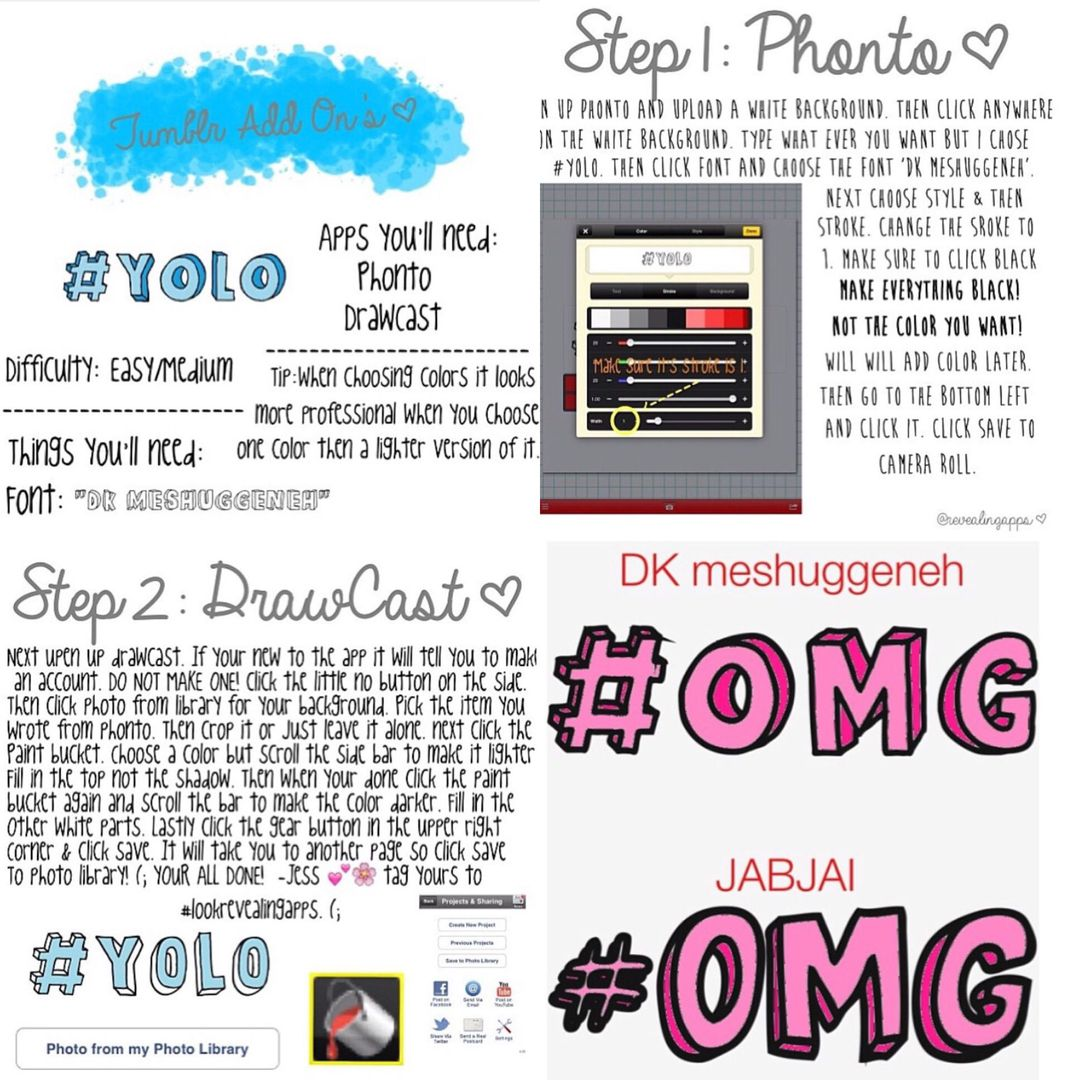 Editing Apps & Tutorials - Tumblr Word Transparents - Wattpad