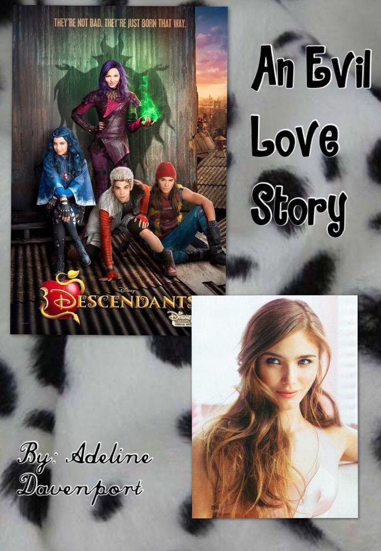 An Evil Love Story (A Carlos De Vil/Disney Descendants fanfic
