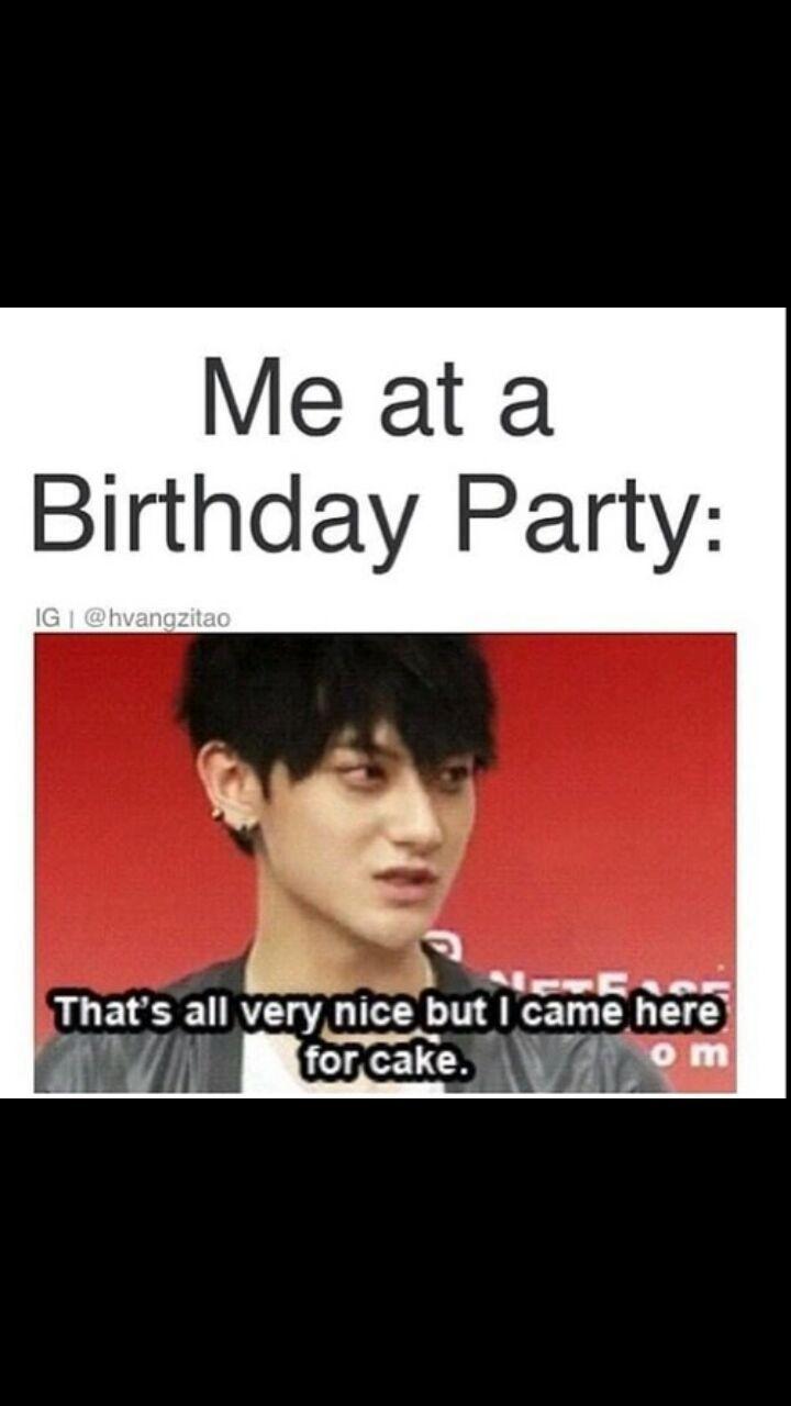 Kpop Meme Birthday Party Wattpad