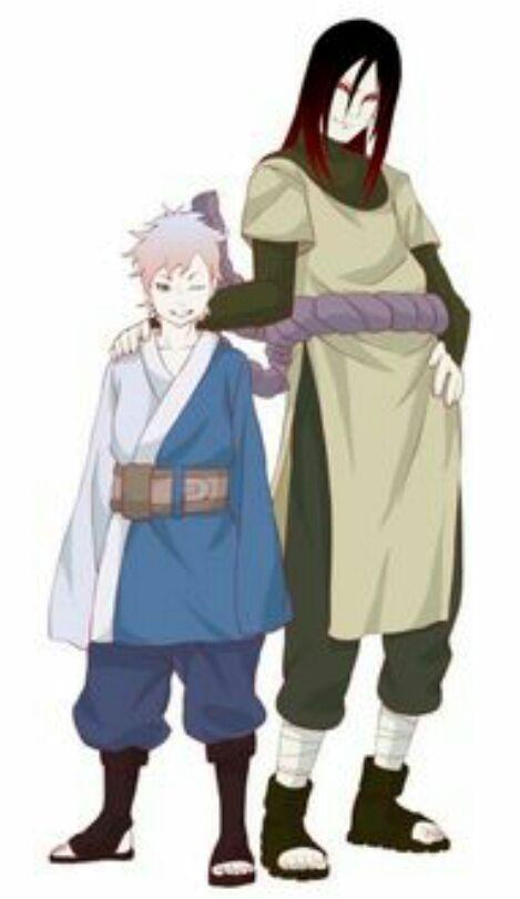 Little do you know ( Boruto & Sarada) - Orochimaru's son ...