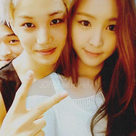 Exo kai and naeun dating