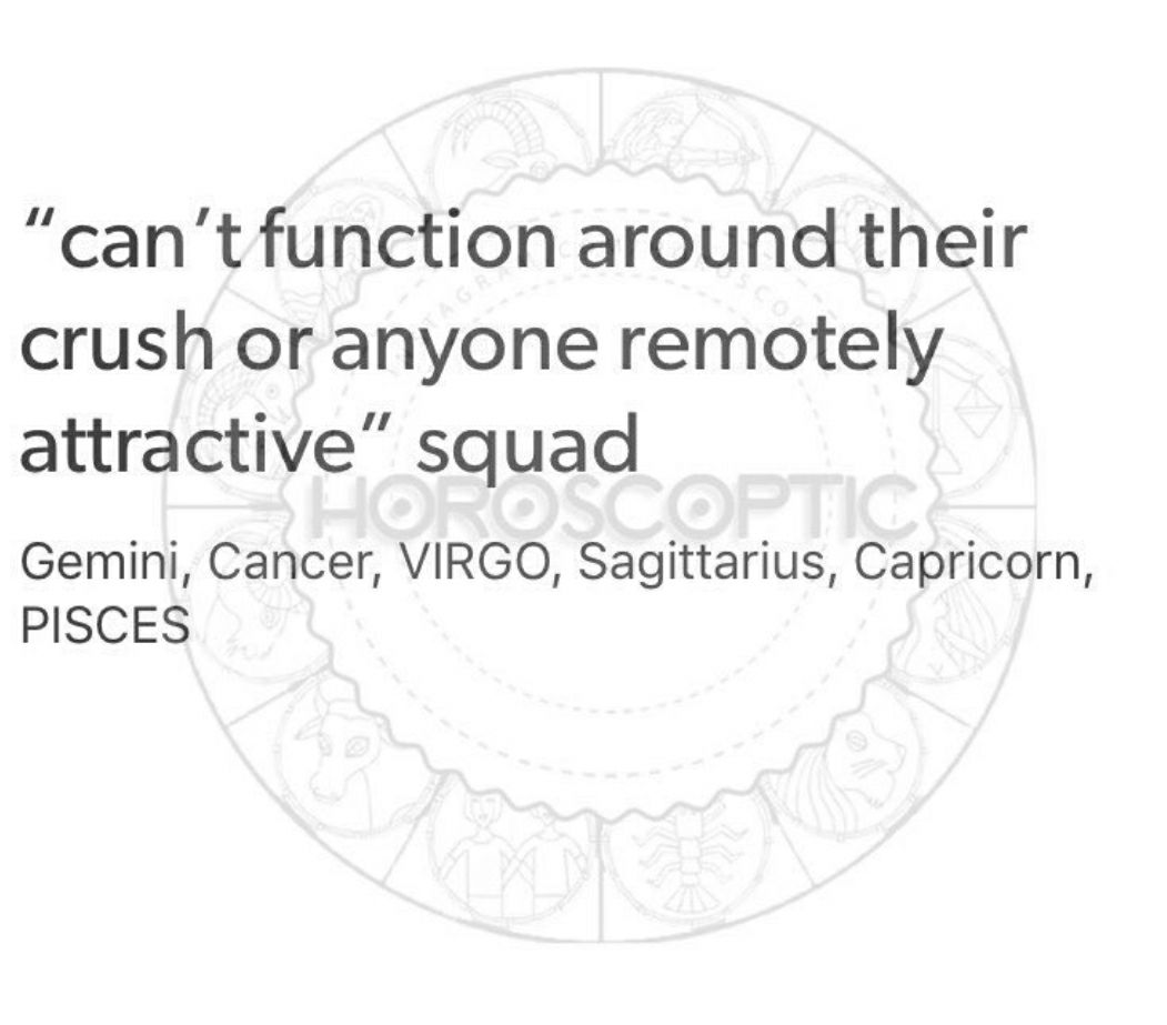 The Zodiac Signs #2 - Signs Around Attractive People - Wattpad