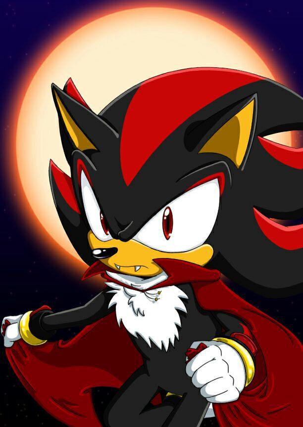 Shadow The Hedgehog x Reader One-Shots - shadow vampire x