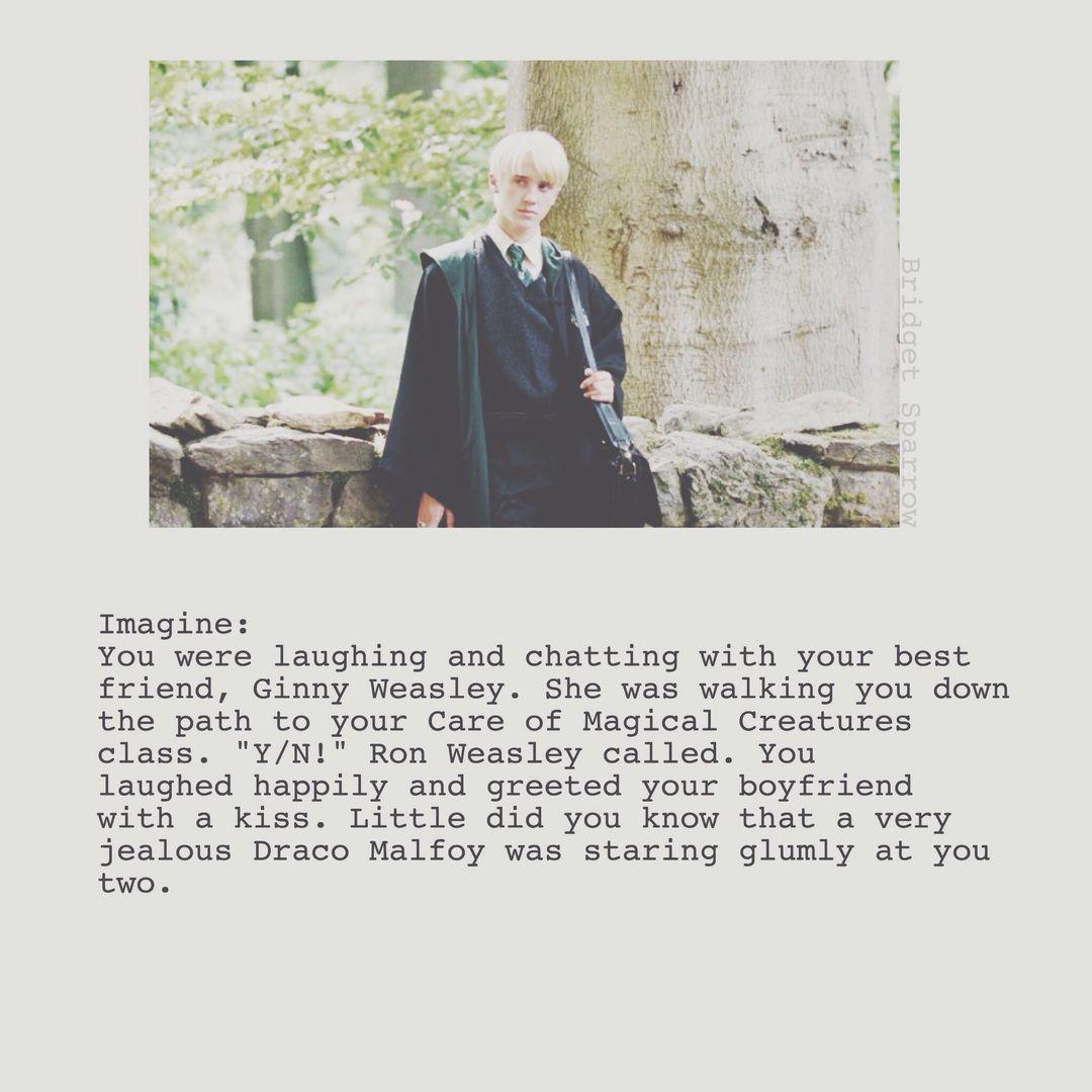 Draco Malfoy Imagines - Jealous Draco - Wattpad